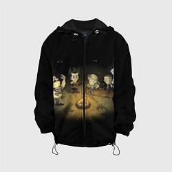 Куртка 3D с капюшоном для ребенка Don't Starve campfire - фото 1