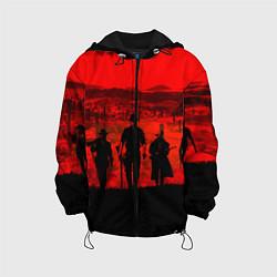 Куртка с капюшоном детская RDR 2: Sunset цвета 3D-черный — фото 1