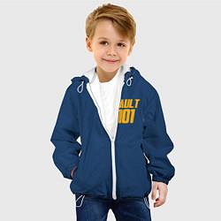 Детская 3D-куртка с капюшоном с принтом VAULT 101, цвет: 3D-белый, артикул: 10167127905458 — фото 2