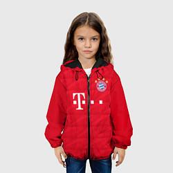 Куртка с капюшоном детская FC Bayern: Home 19-20 цвета 3D-черный — фото 2