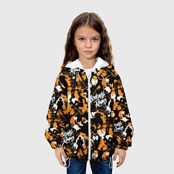 Детская 3D-куртка с капюшоном с принтом Loveable Rogues, цвет: 3D-белый, артикул: 10194631905458 — фото 2
