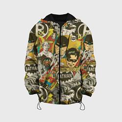 Детская 3D-куртка с капюшоном с принтом DC Comics, цвет: 3D-черный, артикул: 10196124705458 — фото 1