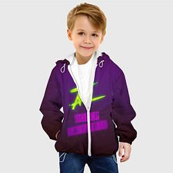 Куртка с капюшоном детская ATL цвета 3D-белый — фото 2