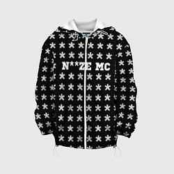 Детская 3D-куртка с капюшоном с принтом Noize MC, цвет: 3D-белый, артикул: 10207036105458 — фото 1