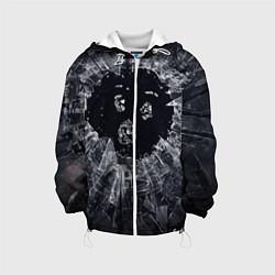 Детская 3D-куртка с капюшоном с принтом ЧЕРНОЕ ЗЕРКАЛО, цвет: 3D-белый, артикул: 10210866905458 — фото 1