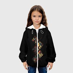 Куртка 3D с капюшоном для ребенка БИТВА САМУРАЯ - фото 2
