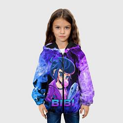 Куртка 3D с капюшоном для ребенка BRAWL STARS BIBI - фото 2