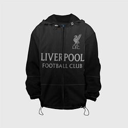 Куртка с капюшоном детская LIVERPOOL цвета 3D-черный — фото 1