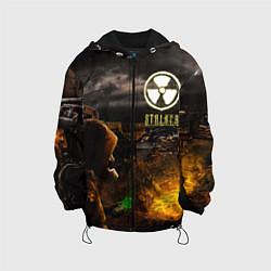 Куртка с капюшоном детская Stalker 2 цвета 3D-черный — фото 1