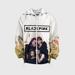 Детская 3D-куртка с капюшоном с принтом BlackPink, цвет: 3D-белый, артикул: 10267890505458 — фото 1