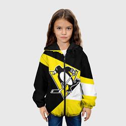 Куртка 3D с капюшоном для ребенка Pittsburgh Penguins Exclusive - фото 2