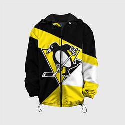 Куртка с капюшоном детская Pittsburgh Penguins Exclusive цвета 3D-черный — фото 1