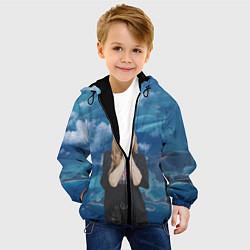 Детская 3D-куртка с капюшоном с принтом LISA BLACKPINK, цвет: 3D-черный, артикул: 10279745105458 — фото 2