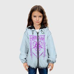 Куртка с капюшоном детская Евангилион цвета 3D-черный — фото 2