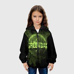 Куртка с капюшоном детская Green Day: Acid Voltage цвета 3D-черный — фото 2