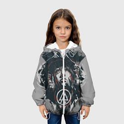 Детская 3D-куртка с капюшоном с принтом Linkin Park: My Style, цвет: 3D-белый, артикул: 10072701805458 — фото 2