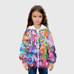 Куртка 3D с капюшоном для ребенка My Little Pony - фото 2
