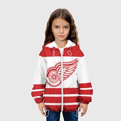 Куртка 3D с капюшоном для ребенка Detroit Red Wings - фото 2