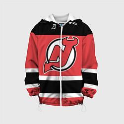 Куртка с капюшоном детская New Jersey Devils цвета 3D-белый — фото 1