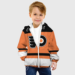 Куртка с капюшоном детская Philadelphia Flyers цвета 3D-белый — фото 2