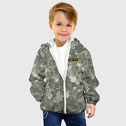 Куртка с капюшоном детская B III + цвета 3D-белый — фото 2