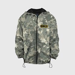 Куртка с капюшоном детская O I + цвета 3D-черный — фото 1