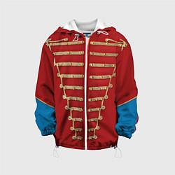 Детская 3D-куртка с капюшоном с принтом Пиджак Майкла Джексона, цвет: 3D-белый, артикул: 10085237305458 — фото 1