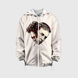 Детская 3D-куртка с капюшоном с принтом Fight Club: Friends, цвет: 3D-белый, артикул: 10090247905458 — фото 1