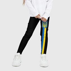 Леггинсы для девочки Украина цвета 3D — фото 2