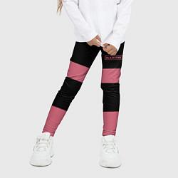 Леггинсы для девочки Black Pink: Jennie 96 цвета 3D-принт — фото 2