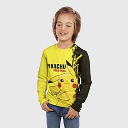 Лонгслив детский Pikachu Pika Pika цвета 3D — фото 2