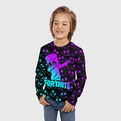 Лонгслив детский FORTNITE X MARSHMELLO цвета 3D — фото 2