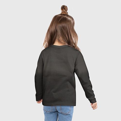 Детский лонгслив Девушка в форме / 3D – фото 6