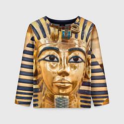 Лонгслив детский Фараон цвета 3D — фото 1