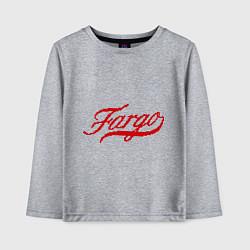Лонгслив хлопковый детский Fargo цвета меланж — фото 1
