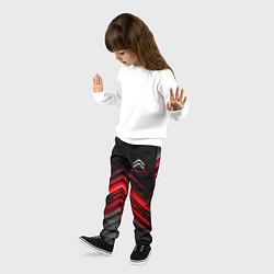 Брюки детские Citroen: Red sport цвета 3D — фото 2