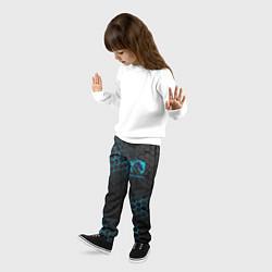 Брюки детские Team Liquid: Carbon Style цвета 3D — фото 2