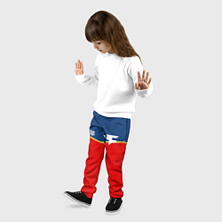 Брюки детские FaZe Clan: Uniform цвета 3D-принт — фото 2