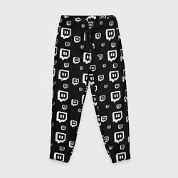 Брюки детские Twitch: Black Pattern цвета 3D — фото 1