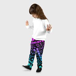 Брюки детские Roblox цвета 3D-принт — фото 2