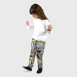 Брюки детские Legendary цвета 3D — фото 2