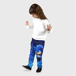 Брюки детские Соник цвета 3D — фото 2