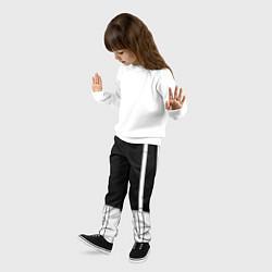 Брюки детские ШТАНЫ САНСА SANS цвета 3D-принт — фото 2