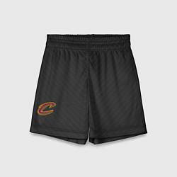 Шорты детские Cleveland Cavaliers цвета 3D-принт — фото 1