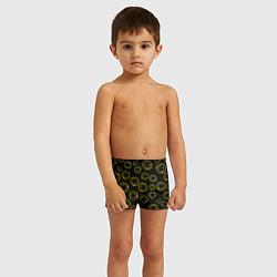 Плавки для мальчика Nirvana Pattern цвета 3D — фото 2