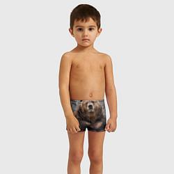 Плавки для мальчика Русский медведь цвета 3D — фото 2