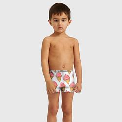 Плавки для мальчика Мороженки цвета 3D — фото 2
