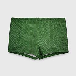 Плавки для мальчика Змеиная зеленая кожа цвета 3D — фото 1