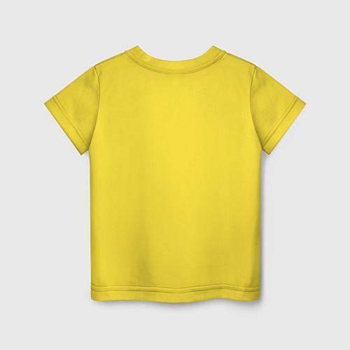 Детская футболка Подруги навеки / Желтый – фото 2