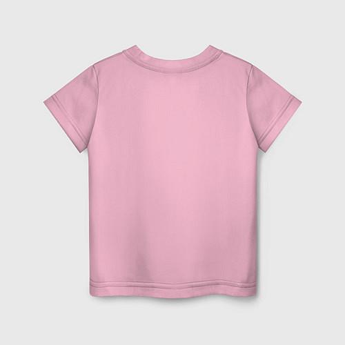 Детская футболка Да, я с ней / Светло-розовый – фото 2